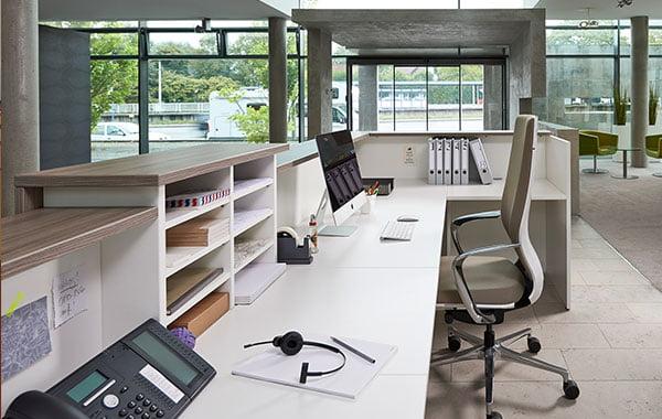 Planung von Büroeinrichtungen