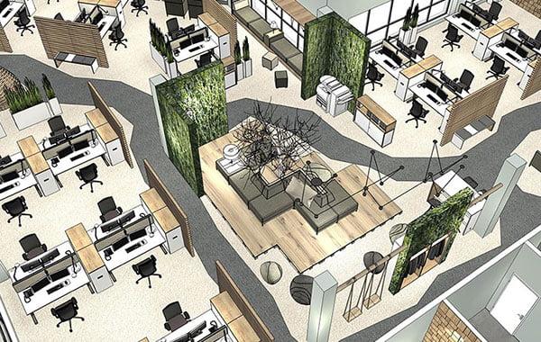 Konzept Planung Büroeinrichtung Duderstadt Göttingen Eichsfeld Bürotechnik